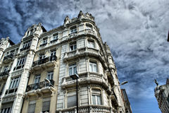 La Coruna buildings Stock Photo