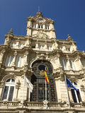 La coruna city hall Stock Photos