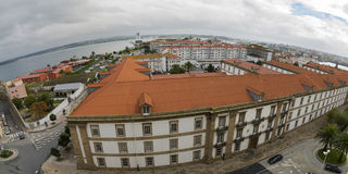 La Coruna coast. Royalty Free Stock Photography