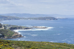 La Coruna coast. Royalty Free Stock Photo