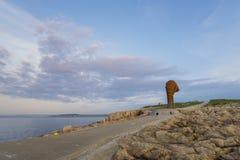 La Coruna coast. Stock Photos