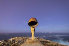 La Coruna-Küste Stockbild