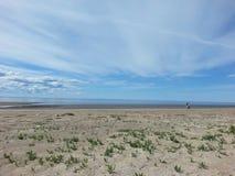 La costa Fotografia Stock