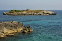La costa Fotografie Stock Libere da Diritti