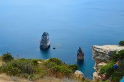 La costa Fotografía de archivo libre de regalías