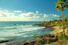 La costa Fotografía de archivo