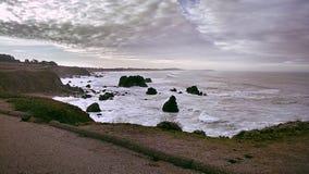 La costa Immagine Stock Libera da Diritti