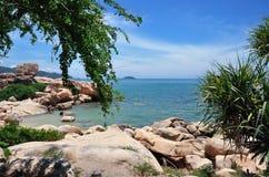 La costa costa Foto de archivo libre de regalías