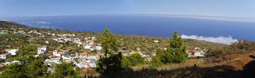 La costa costa cerca de Tacoron EL Hierro imagen de archivo libre de regalías