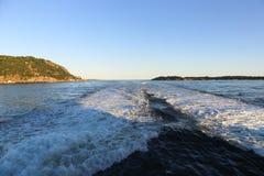La costa costa de Kristiansand Fotografía de archivo