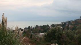 La costa costa enfoca adentro metrajes