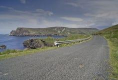 La costa costa maravillosa de Donegal Fotografía de archivo libre de regalías