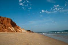 La costa de Algarve imagen de archivo
