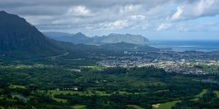 La costa de barlovento de Oahu Fotos de archivo libres de regalías