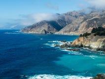 La costa de Big Sur Foto de archivo libre de regalías