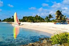 La costa de Cuba Foto de archivo libre de regalías