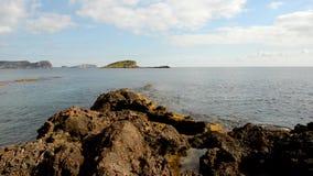 La costa de DES Canar en Ibiza metrajes