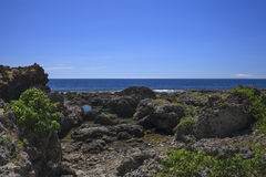 La costa de la isla Fotos de archivo libres de regalías