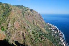 La costa de Madeira Foto de archivo libre de regalías