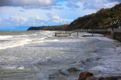 La costa de mar Báltico Imagen de archivo libre de regalías
