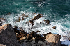 La costa de mar #4: Mutrah, Muskat, Omán Fotos de archivo libres de regalías