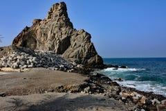 La costa de mar #2: Mutrah, Muskat, Omán Imagen de archivo