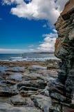 La costa costa de Tasmania, belleza sin tocar imagen de archivo libre de regalías