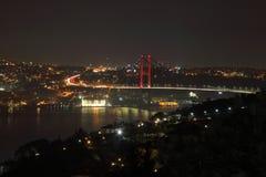 La costa del Bosphorus Costantinopoli La Turchia Fotografie Stock Libere da Diritti
