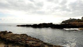 La costa del DES Canar in Ibiza archivi video