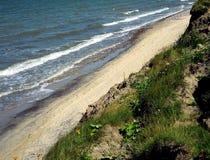 La costa del Mar Baltico, Russia Fotografia Stock