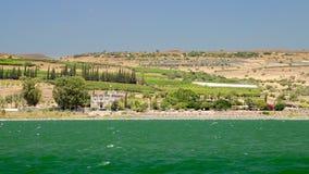 La costa del mar de Galilea, Israel metrajes