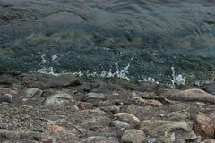 La costa del Neva Immagini Stock Libere da Diritti