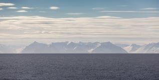 La costa del norte de Islandia Imagen de archivo