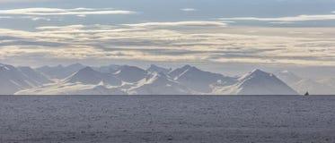 La costa del norte de Islandia Fotografía de archivo libre de regalías