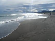 La costa del Pacifico Fotografia Stock