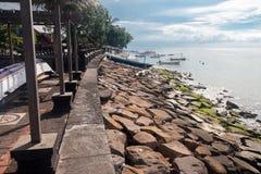 La costa del singaraja foto de archivo