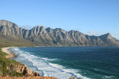 La costa del Sudafrica Fotografia Stock