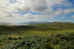 La costa dell'isola di Skye immagine stock