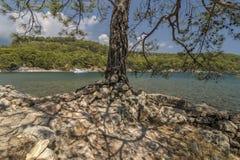 La costa della città antica di Lycia Fotografie Stock Libere da Diritti