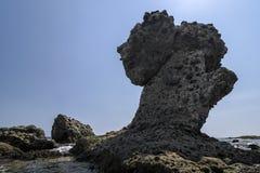 La costa della città antica di Lycia Fotografia Stock