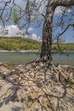 La costa della città antica di Lycia Fotografie Stock