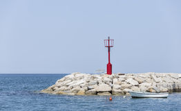 La costa di Fazana Fotografie Stock