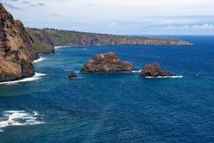 La costa di Kohala Fotografie Stock Libere da Diritti