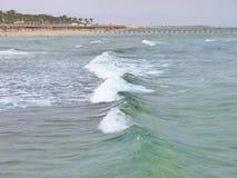 La costa di Mar Rosso in Sharm el-Sheikh fotografia stock