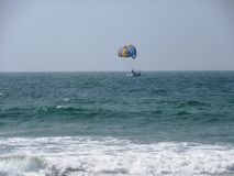 La costa e le spiagge di Goa fotografie stock libere da diritti
