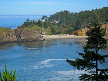 La costa escénica hermosa de Oregon Imagen de archivo