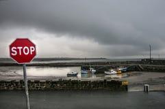 La costa irlandesa fotografía de archivo