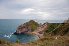 La costa jurásica de Dorset, Inglaterra Foto de archivo