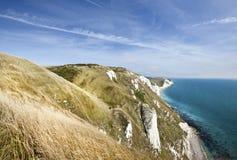 La costa jurásica en Dorset Imagen de archivo libre de regalías