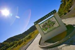 La Costa Rica Parque Nacional Volcan Irazu Fotografia Stock Libera da Diritti